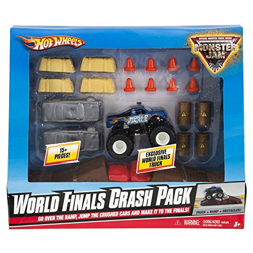 Hot Wheels Monster Jam World Finals Crash Pack