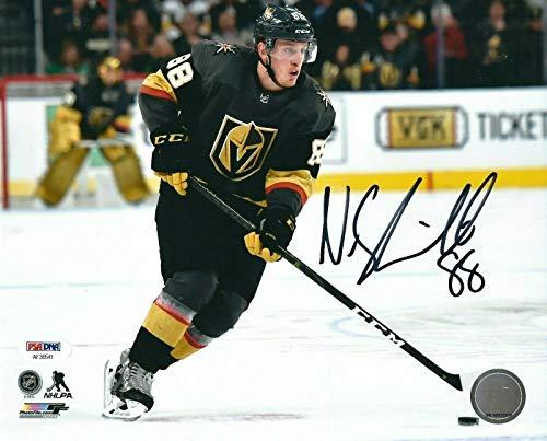 Nate Schmidt Autographed Photo - Las 8x10 AF36541 - PSA/DNA Certified - Autographed NHL Photos