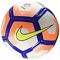 Balón de fútbol Nike La Liga Pitch (blanco /naranja /púrpura) (5)
