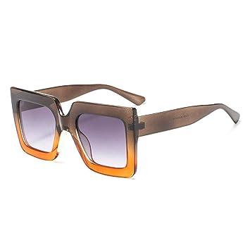 Gafas De Sol De La Moda Gafas De Sol Cuadradas De La Cara ...
