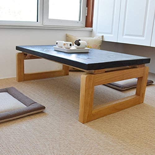 SHPING 折りたたみテーブル 折りたたみテーブル、木製ノンスリップ、寮ベッドの中でポータブル、折りたたみ勉強机、キッチンで折りたたみダイニングテーブル、強い支持力 ローテーブル (Color : A, Size : 70×45×30cm)