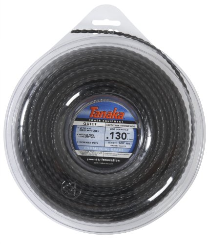 Tanaka 746572 Quiet String Trimmer Line Donut, .130-Inch, 120-Feet