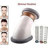 Neckline Slimmer, Ledteem Portable Neck Exerciser Chin Massager to Reduce Double Chin for Both Men and Women