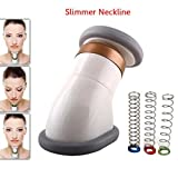 Facial Massage Jawline - Neckline Slimmer Face Chin Lift, Facial Flex Face Neck Massager Jawline Exerciser Shaper for Double Chin Remover, Neck Pain Genie Neck Line Exercise Equipment with Bag