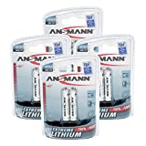 ANSMANN Extreme AAA Lithium Battery Lithium AAA 1,5V - Higher Performance & Capacity for extreme Temperatures heat & cold (8-Pack) (5021013-590)