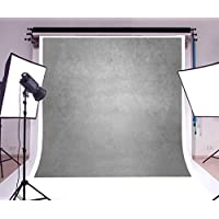 10x10ft Laeacco Vinyl Thin Photography Background Plain Solid Color Blurry Gray Theme Wedding Backdrop Photo Studio Props