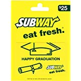 SUBWAY Graduation Gift Card $25