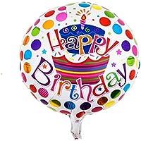 Happy Birthday Puantiyeli Folyo Balon