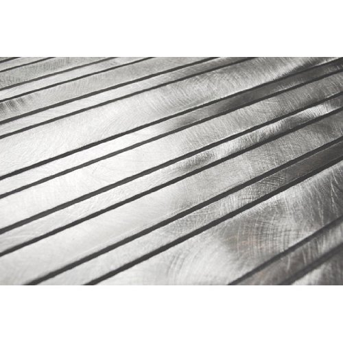 Long Random Bar Silver Aluminum Tile - Kitchen Backsplash/Bath Backsplash/Wall Decor/Fireplace Surround