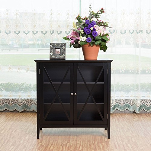 Briarwood Home Decor Black Wood Cabinet (Briarwood Furniture)