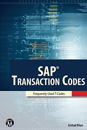 Sap transaction codes frequently used t codes arshad khan ebook sap transaction codes frequently used t codes by khan arshad fandeluxe Images