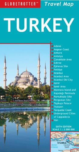 Turkey Travel Map, 6th (Globetrotter Travel Map) pdf epub