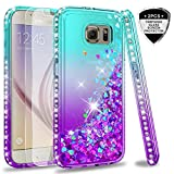 Best Galaxy S6 Cases - Galaxy S6 Glitter Case with Tempered Glass Screen Review