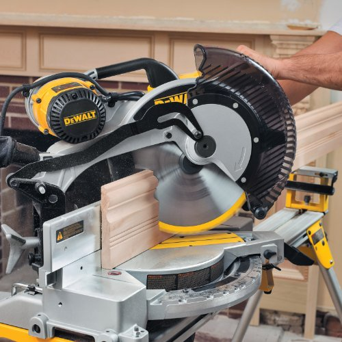 028877505749 - DEWALT DW716 15 Amp 12-Inch Double-Bevel Compound Miter Saw carousel main 4