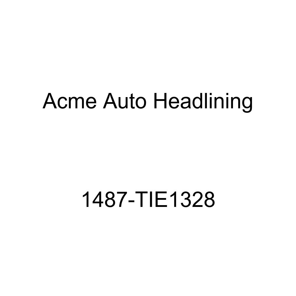 1959-60 Bel Air, Biscayne, Impala /& Dynamic 2 /& 4 Door Sedan 7 Bows Acme Auto Headlining 1487-TIE1328 Red Replacement Headliner