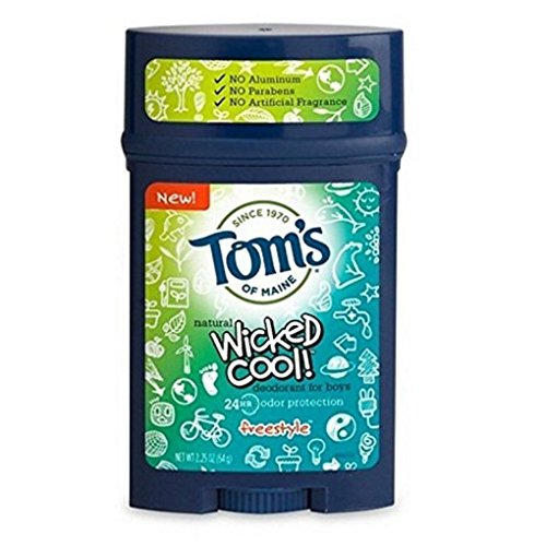 Tom's of Maine Wicked Cool Deodorant for Boys Freestyle 2.25 oz by Tom's of Maine