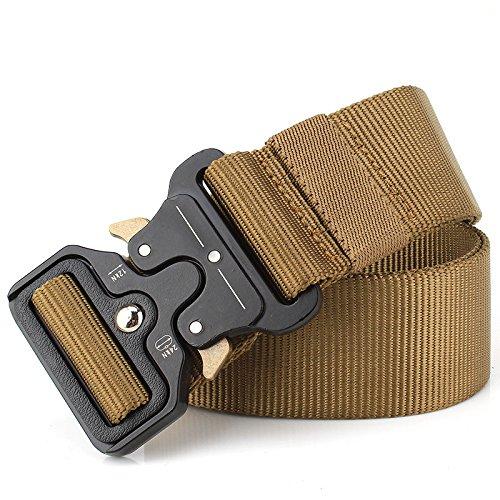 7760184b7ae9 Équipement ceinture tactique hommes libération rapide ceintures en nylon  ceinture de survie réglable