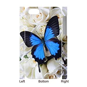 3D Bumper Plastic Case Of Butterfly customized case For ipod touch 4