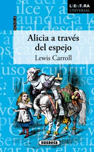 Portada del libro Alicia a través del espejo de Lewis Carroll