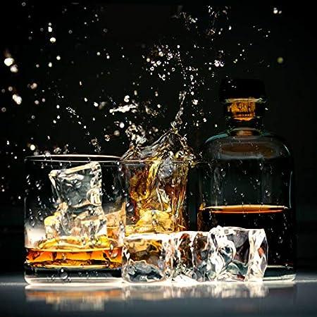 KATELUO Bandeja De Hielo De Silicona, 2pcs Cubitera de Silicona,Moldes para Cubitos de Hielo Congelarse Alimentos para Bebés, Cócteles, Whisky, Cerveza, Vino, Ginebra, Café, sin BPA (2 piezas - verde)