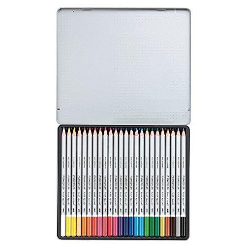 Staedtler Karat Aquarell Premium Watercolor Pencils, Set of 24 Colors (125M24) by STAEDTLER (Image #3)