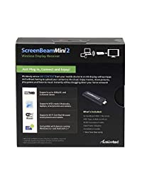 Actiontec   ScreenBeam Mini2   Receptor inalámbrico para pantalla (SBWD60A01).