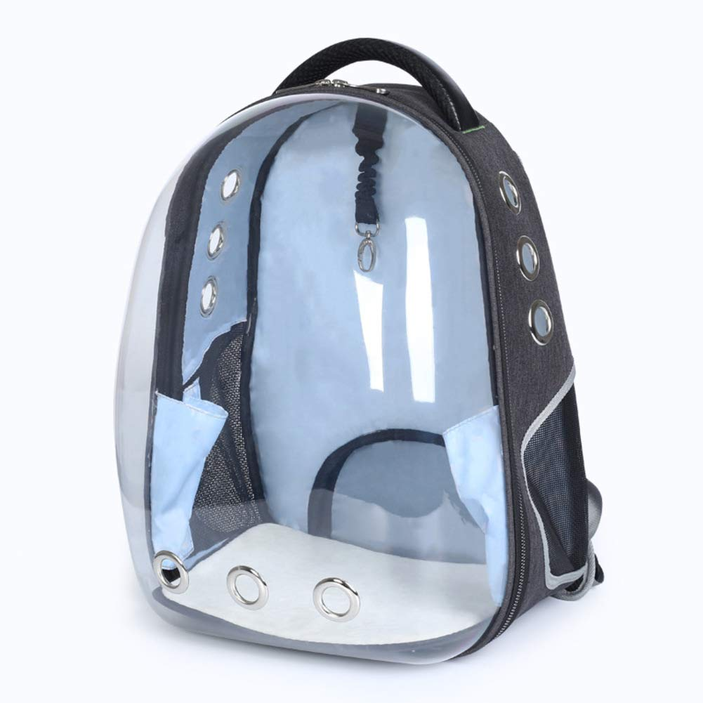 bluee D MMdtgrSrltfh Portable bubble Pet carrier,Travel transparent breathable waterproof space capsule mesh transport backpack for cat dog puppy greenA M