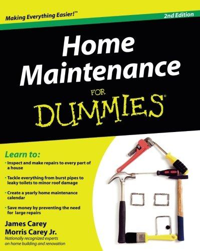 (Home Maintenance For Dummies)