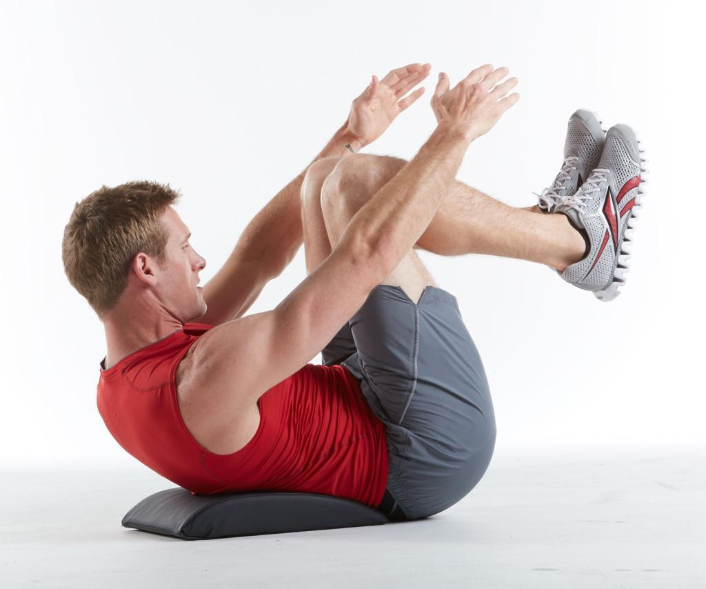 Amazon.com : SPRI Ab Mat Abdominal Trainer : Exercise Mats ...