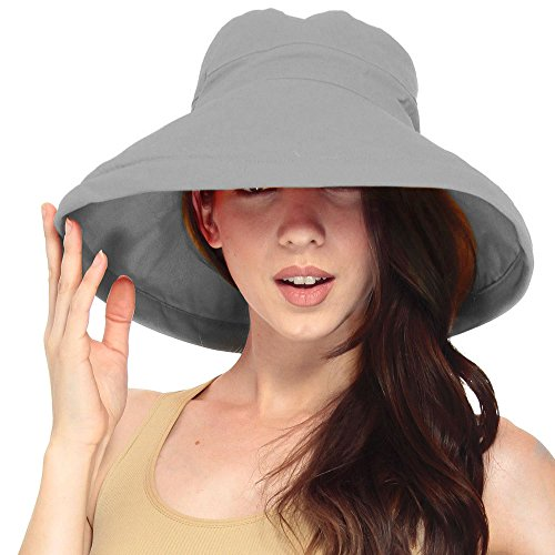 summer solid cotton bucket hat
