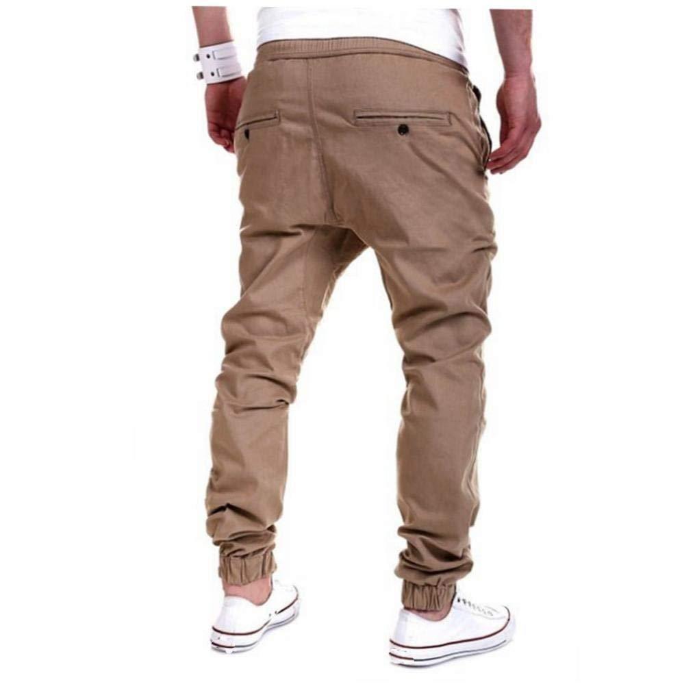 Pantalons pour Hommes Pantalons Pantalons Baggy De Jogging Harem Casua  Moderne Joggers Pantalons Cargo De Base ... 2eb22b044b8