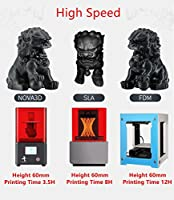 NOVA3D UV LCD 3D Printer Ethernet WiFi Wireless High Resolution Off-line Print Resin 3D Printing Machine from NOVA3D