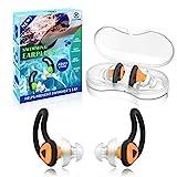 2 Pairs Swimmer Ear Plugs, Hearprotek Upgraded