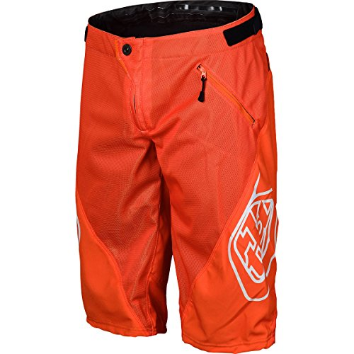 Troy Lee Designs Sprint Boy's BMX Bicycle Shorts - Orange / (Sprint Kids Bike)
