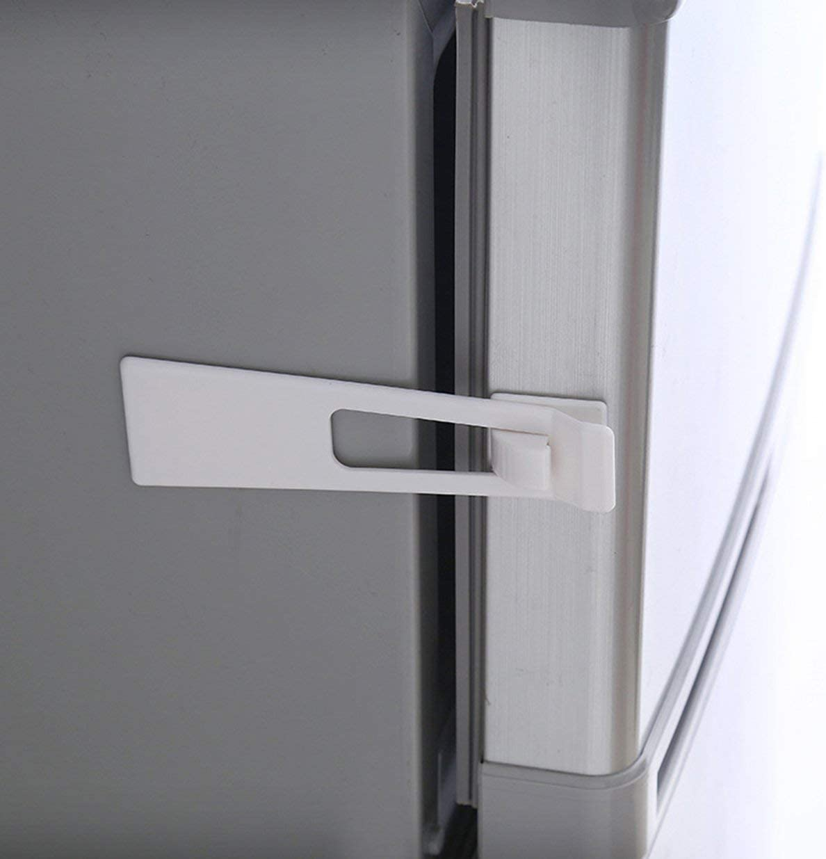 Cerraduras de seguridad para niños y bebés, para frigorífico, armario, puerta de refrigerador, cajón, hogar, interior, cierre de seguridad fácil de instalar: Amazon.es: Hogar