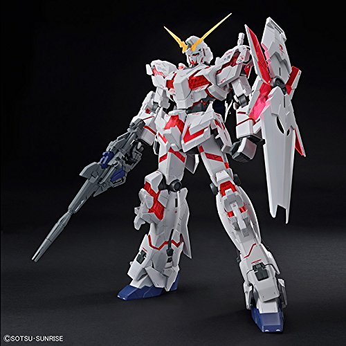 Bandai Hobby Mega Size 1/48 Unicorn Gundam [Destroy Mode] Gundam UC Model Kit Figure by Bandai Hobby (Image #2)