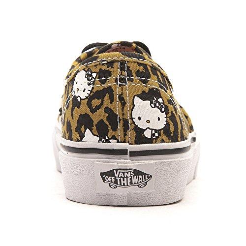 Vans Authentic VJXI4LL Unisex - Kinder Lauflernschuhe (Hello Kitty) Leopard / True White