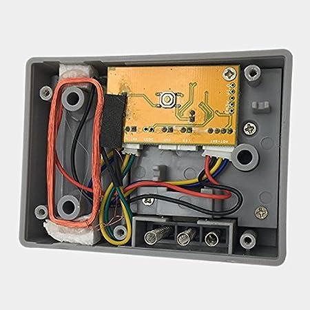 Bloqueo antirrobo de huellas dactilares para el hogar con cerradura inteligente de Xueliee, sin llave, con contraseña digital desbloqueada: Amazon.es: Hogar