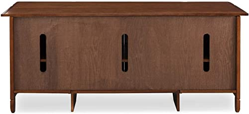 Leick Riley Holliday 60 TV Stand in Rustic Autumn