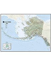 Alaska State Wall Map (Tubed)