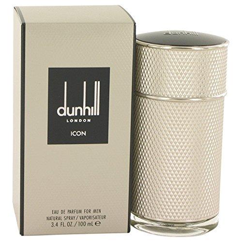 Dûnhîll Icön Cologné for Men by Alfrëd Dunhïll 3.4 oz Eau De Parfum Spray +Free W.Blué Vial