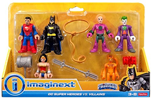 Fisher-Price Imaginext DC Super Heroes vs. Villains Exclusive 6-Pack for $<!--$13.50-->