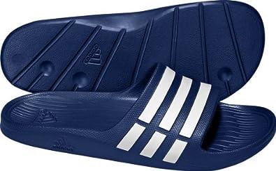 100% authentic 50eff 28430 Adidas Badeschuhe Adilette Duramo Slide. Schnelltrocknend und federleicht.  Gr. 48.5
