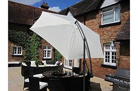 Prince 3 Metre Free Standing Outdoor Parasol Garden Umbrella