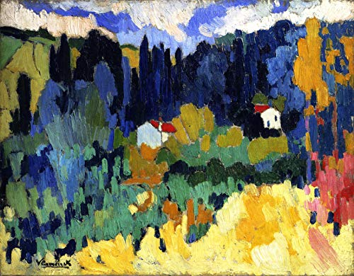 Maurice de Vlaminck The Hills at Malmaison 1907 Private Collection 30