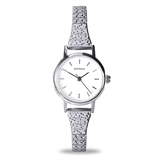 d54c7c5cb25d Sekonda Women's Quartz Watch with Silver Dial Analogue Display and Silver  Stainless Steel Bracelet 4676.27: Sekonda: Amazon.co.uk: Watches