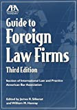 img - for Guide to Foreign Law Firms book / textbook / text book