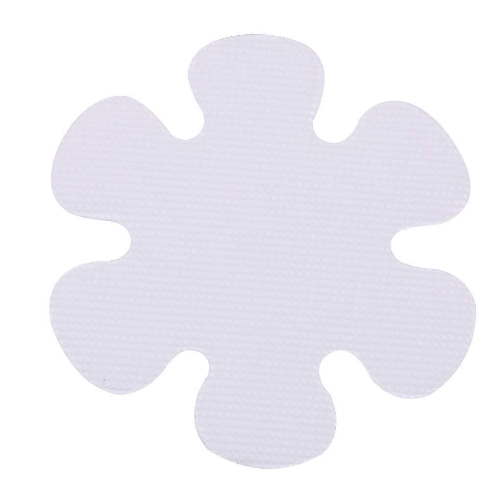 Bathroom Flowers Shape Anti Slip Stickers Anti Slip Tape High Quality