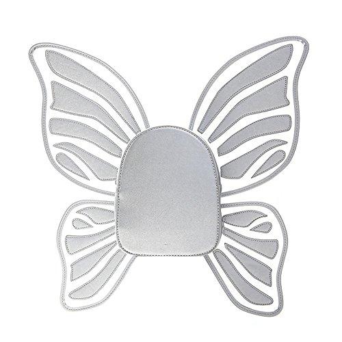 Belle Petits Mignon College Cuir À KING Design Silver À Butterfly Sac Wing Dos Sacs Style MIMI Mode École PU Provisions SZx5Bqx6