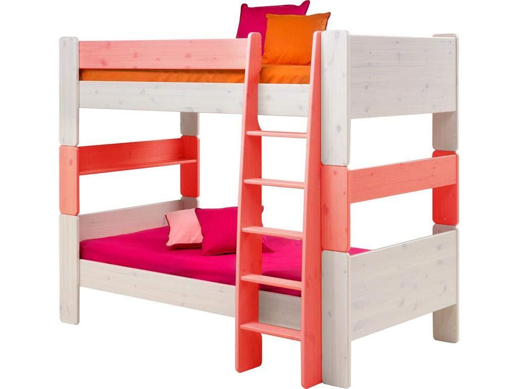 Steens Etagenbett Aufbauanleitung : Steens for kids umbauset für einzelbetten zum etagenbett x